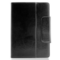 "Universal 10"" Leather Tablet Case - Debossed TEXT"